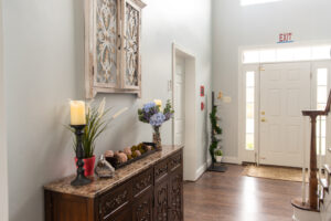 Entryway in house