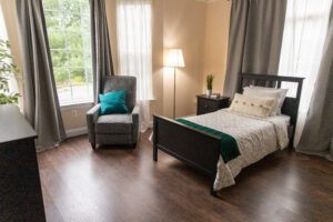 assisted living twin bedroom